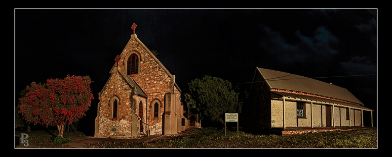 Greenough Hamlet by Night